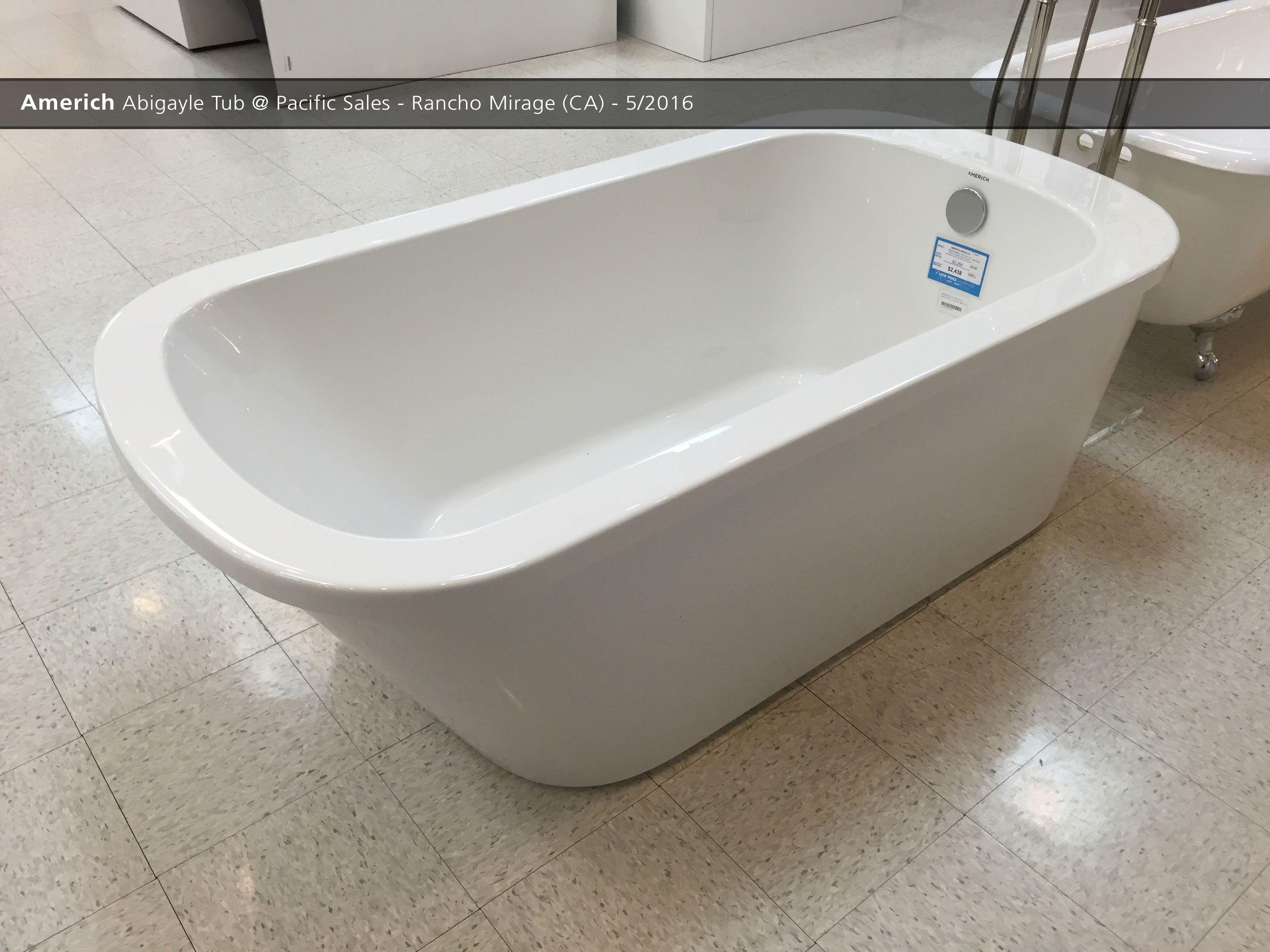 Bathroom Showrooms Torrance Ca americh abigayle tub @ pacific sales - rancho mirage (ca) - 5/2016