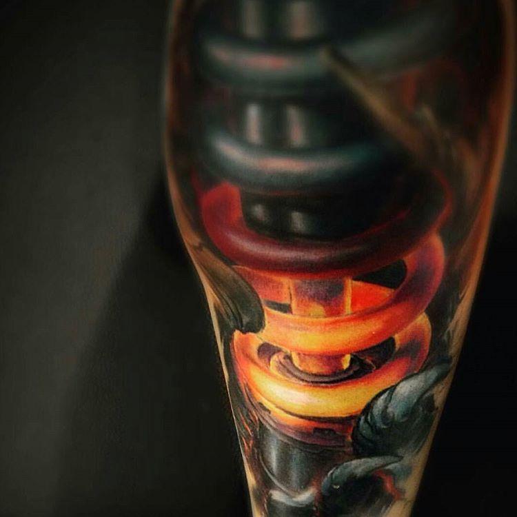 Heat! Awesome tattoo by @koyotsurok  #follow #support #tattoos #tattoolife #art #ink #inklife #toptattooartist #tattoolife #artlife #artist #lifestyle #sogood #amazing #skills #incredible #perfect #colortattoo #beautiful #outstanding #tattoo #bestofday #tattoooftheday #sharetoptattooartist #artistsupportingartist #crazytattoo #realism