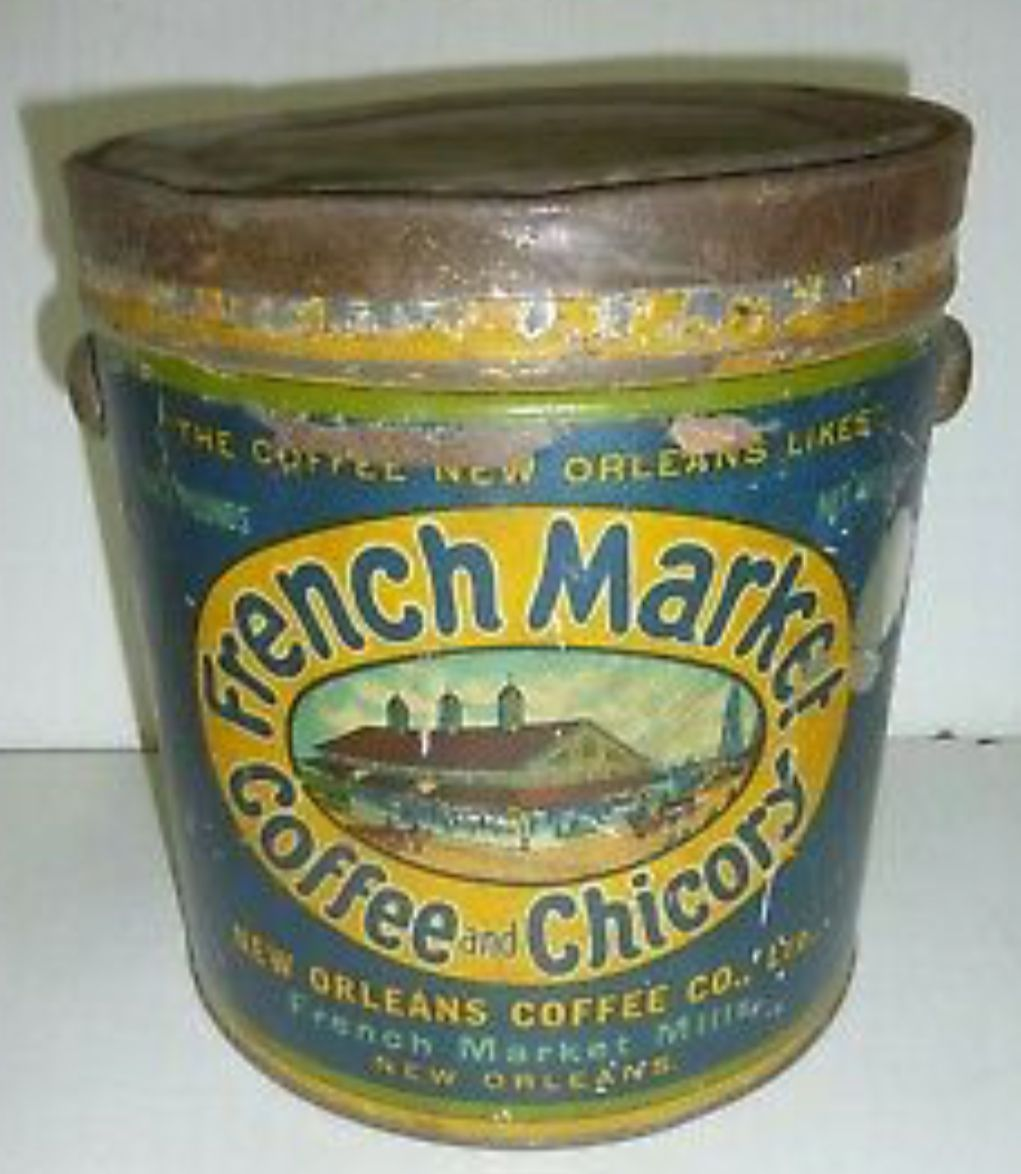 French Market Coffee in 2019 Coffee tin, Coffee, Vintage