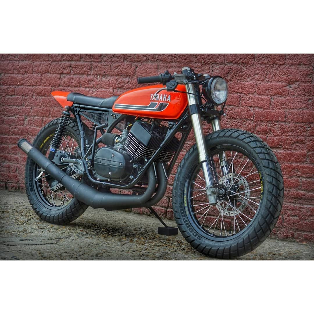 Ever seen #yamaha RD350 like this  This customization looks cool