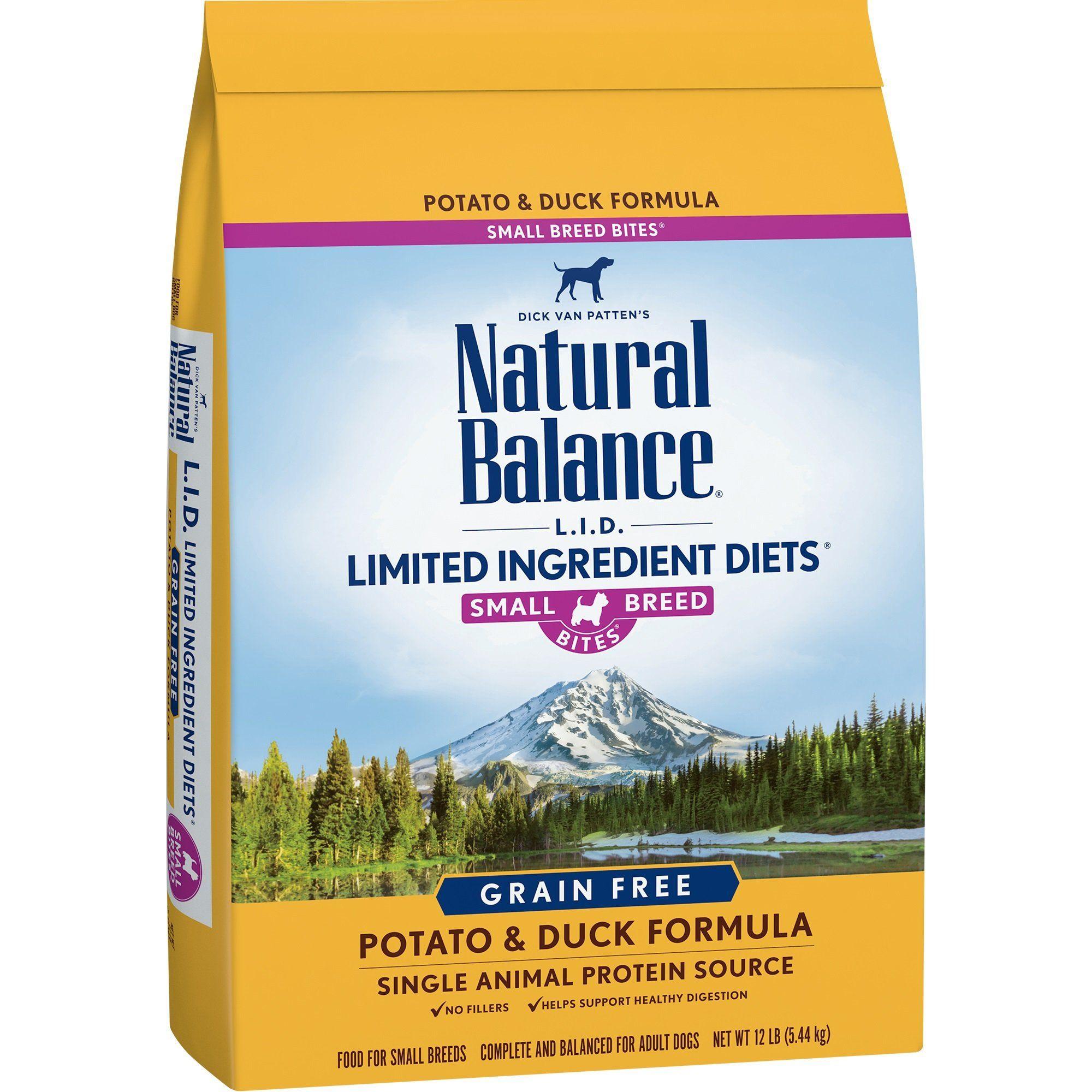 Natural Balance Small Breed Bites L.I.D. Limited