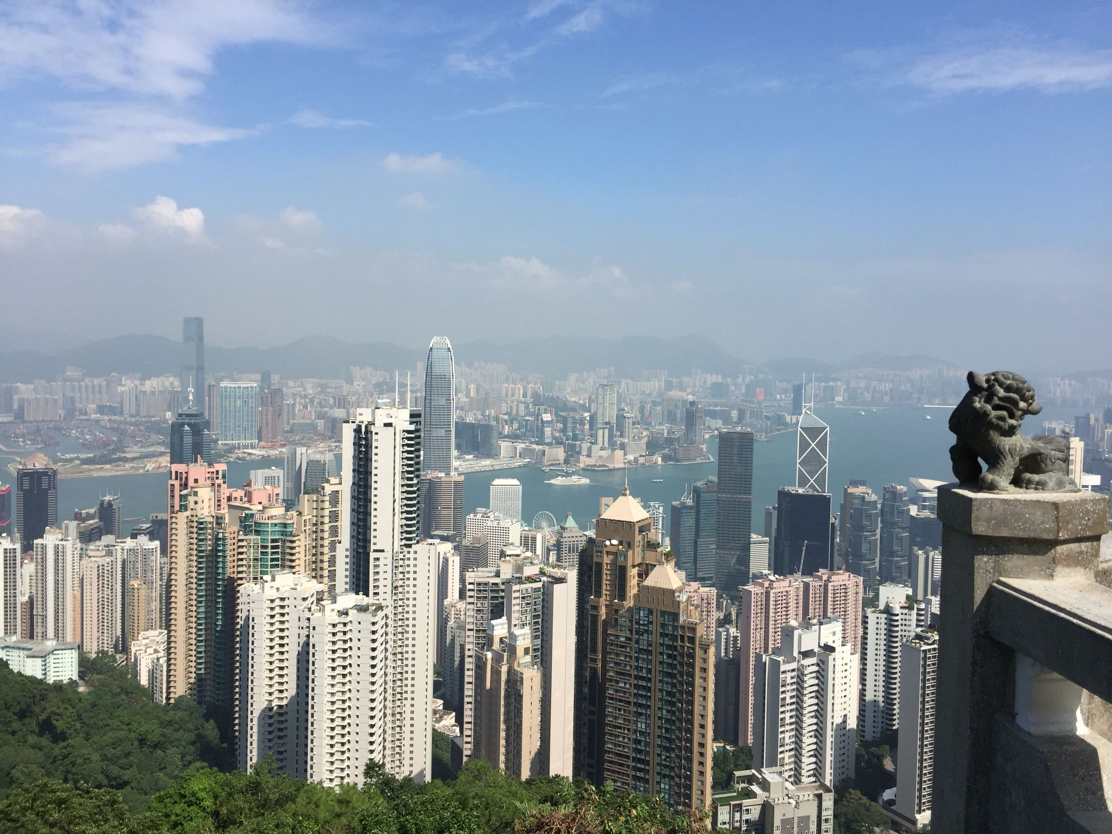 Hong kong skyline orte einzigartige hochzeitsideen