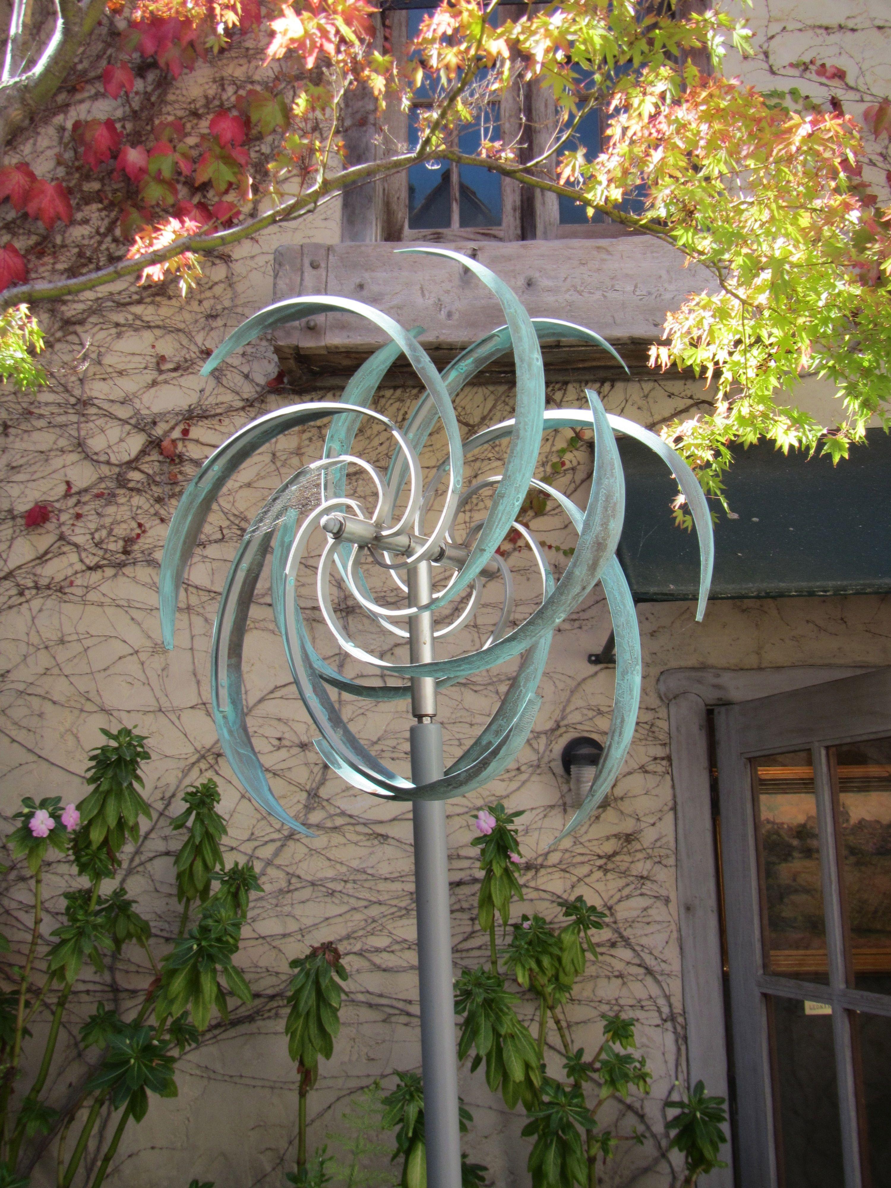 Whirligig Metal Sculpture Garden Art Wind Sculptures