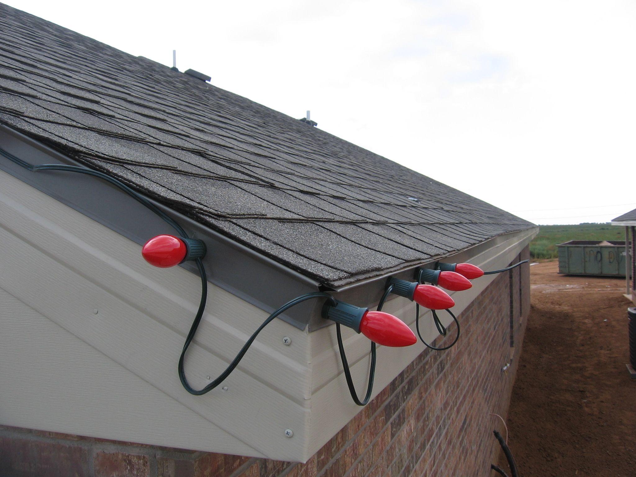 Residential Christmas Light Installation Christmas Lights Roof Christmas Lights