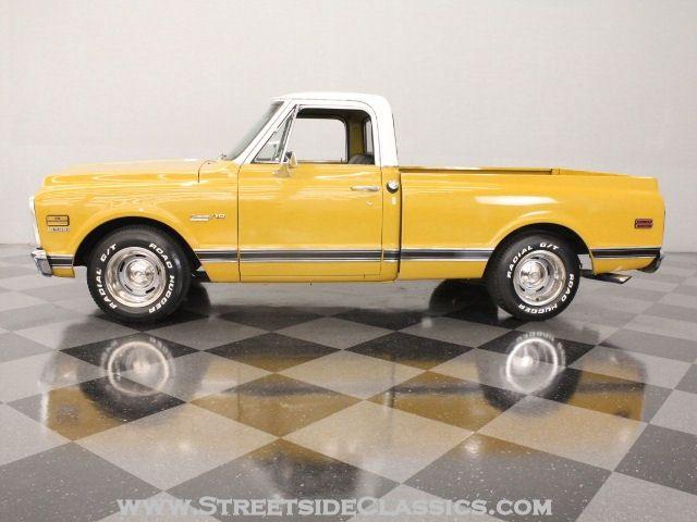 1972 Chevrolet C10 Yellow So Happy Classic Trucks 85 Chevy