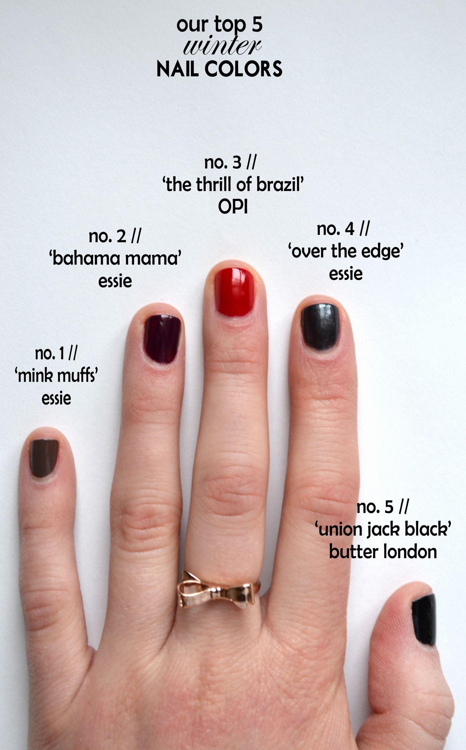 Schöne Nagelfarben für den Winter Elegante, trendige Nagelfarben für den Winter – #elegante #nagelfarben #schone #trendige #winter –