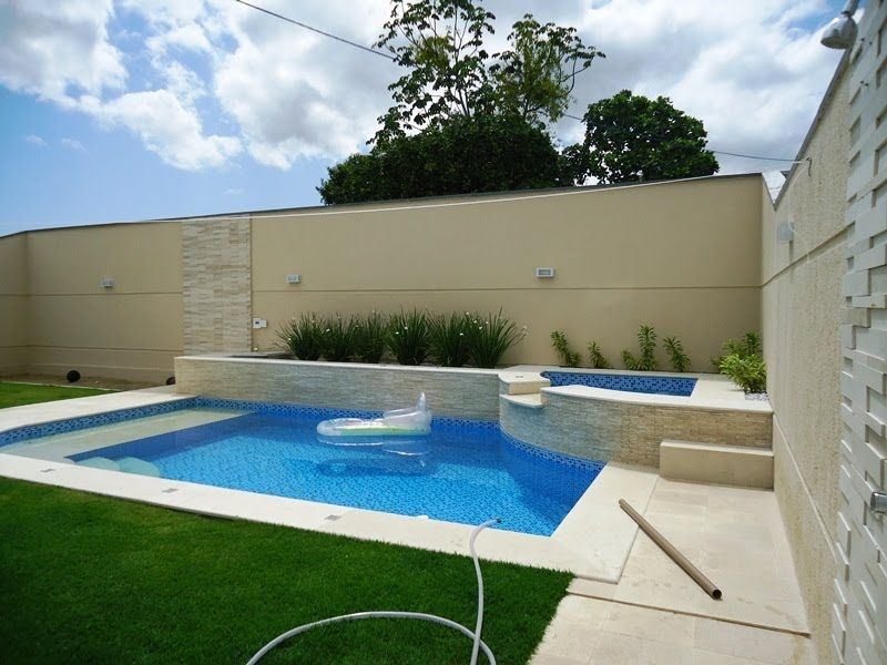 Fotos e modelos de piscinas de alvenaria decora o de for Casas con piscina dentro