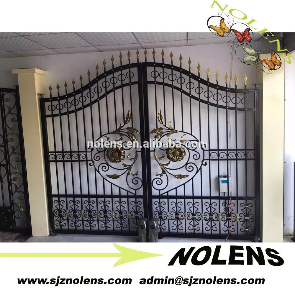 Delighful Simple Metal Gate Sale Designer Wrought Iron