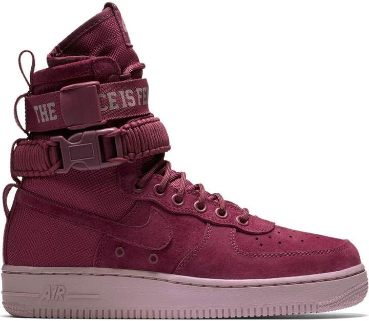 387a7e037 SF Air Force 1 High Force Is Female Vintage Wine (W) in 2019 ...