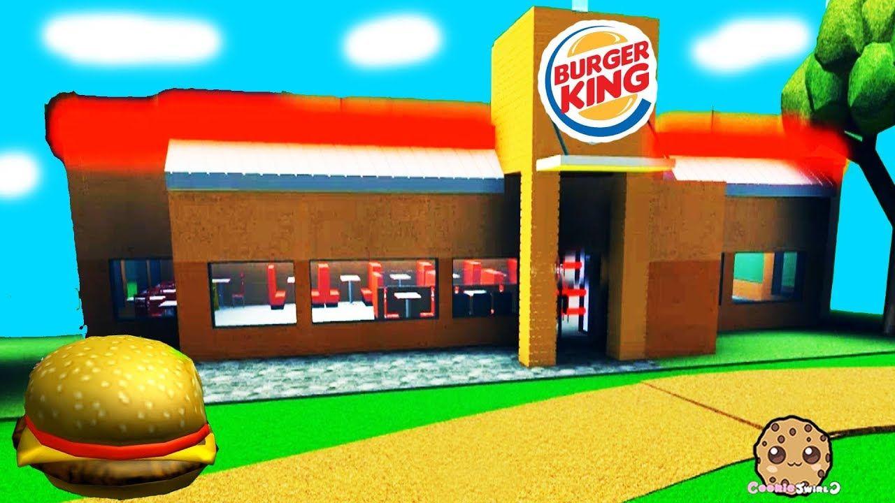 My Own Burger King Fast Food Restaurant Roblox Tycoon Game Playvideo Fast Food Restaurant Roblox Burger King