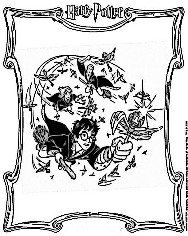 Dibujos para Colorear Harry Potter 26 | Dibujos para colorear para ...