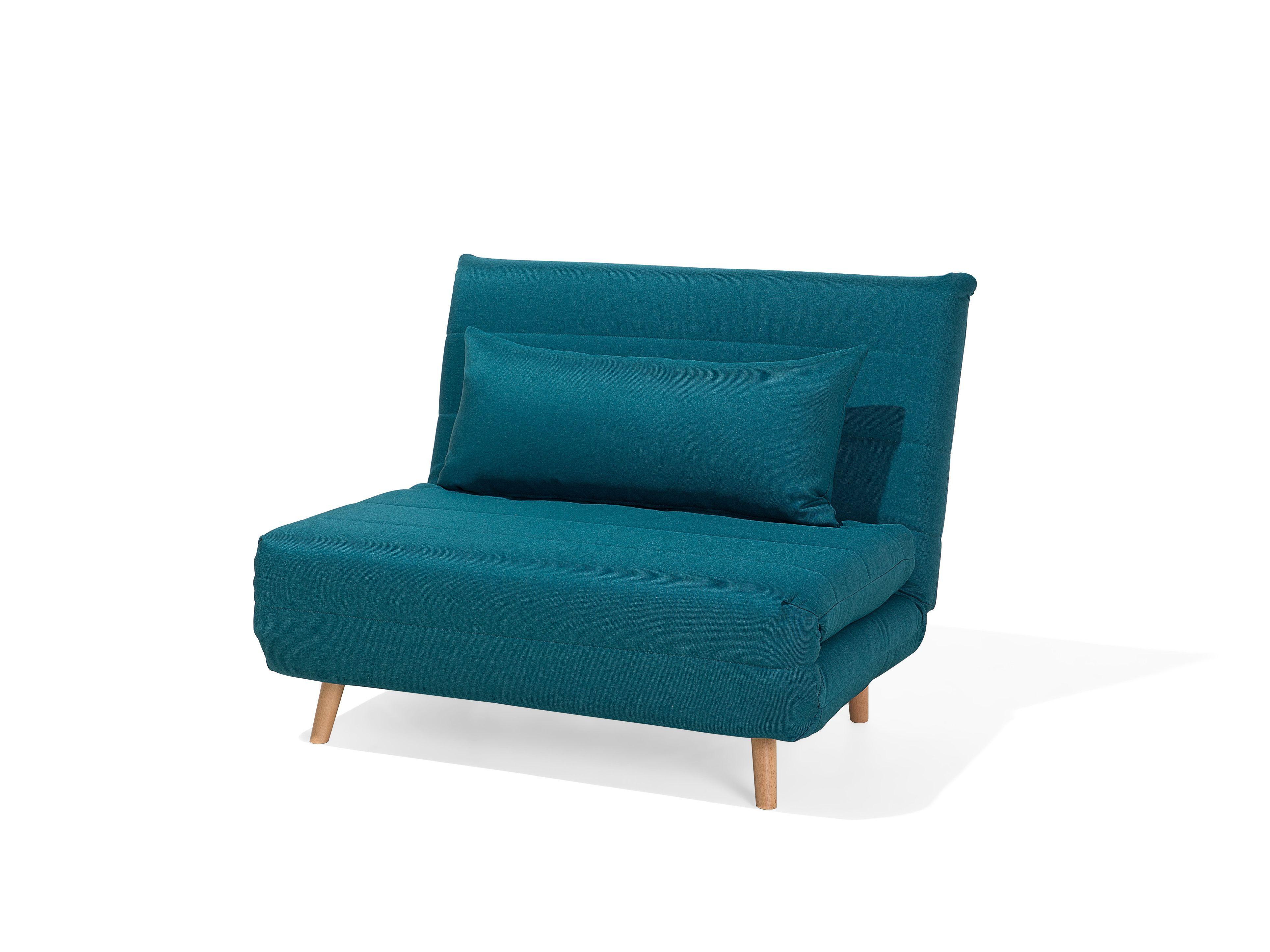Divano Letto Singolo In Tessuto Blu Scuro Setten In 2020 Sofa