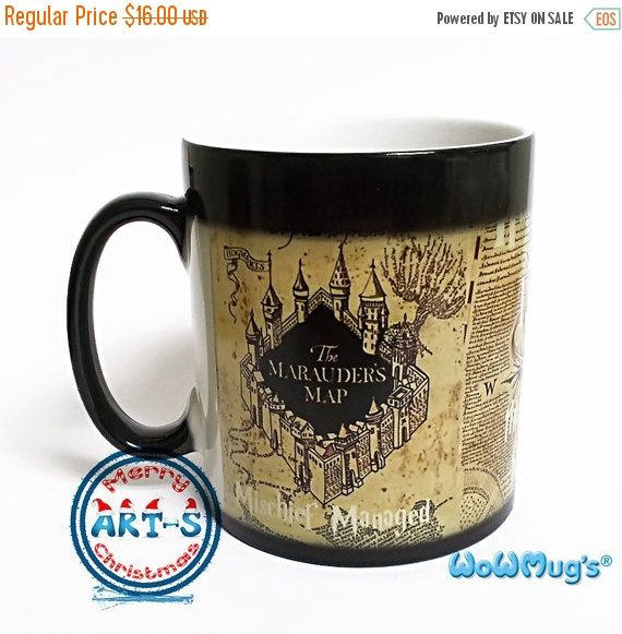 BLACK FRIDAY SALE 20% Off Harry Potter Mug Color by ArtsPrint