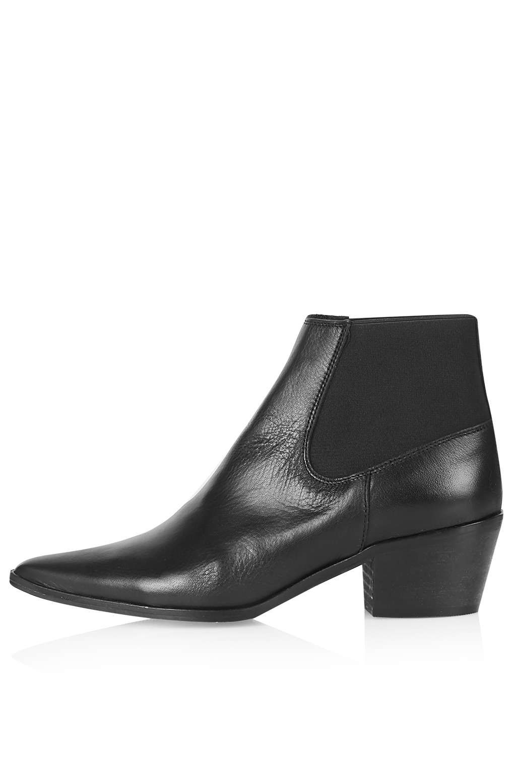 fdf59b1769c MARR Leather Ankle Boots - Topshop | Wish List | Boots, Shoe boots ...
