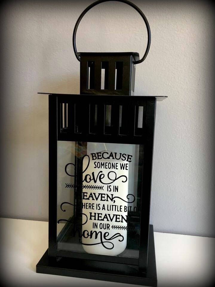 Because someone we love sympathy gift memory candle etsy