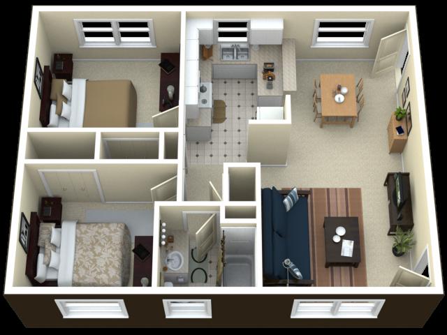 Suche 4 Zimmer Wohnung