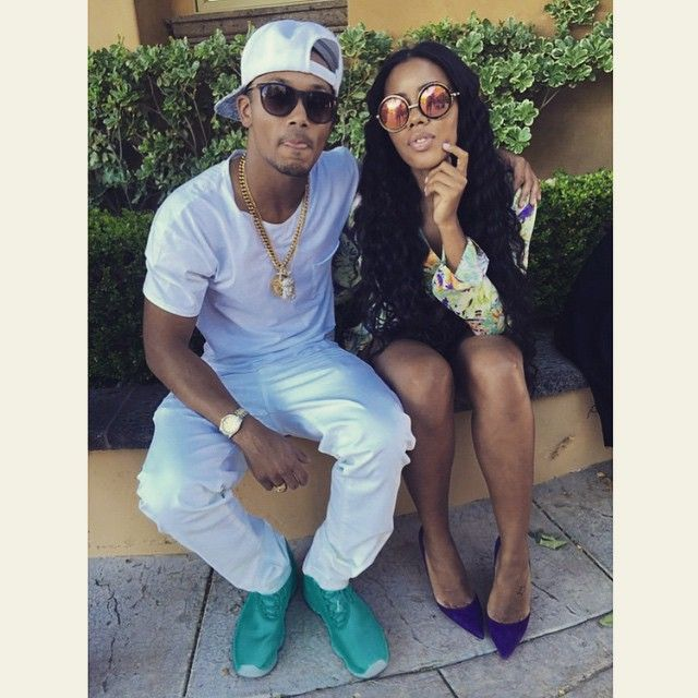 The other day at my mansion party w/my good friend & business partner @angelasimmons #youngmoguls