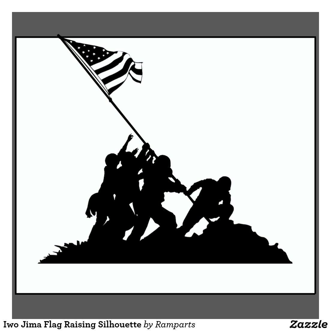 Pin By Searra Gordy On Line Art Silhouette Vector Iwo Jima Flag Iwo Jima
