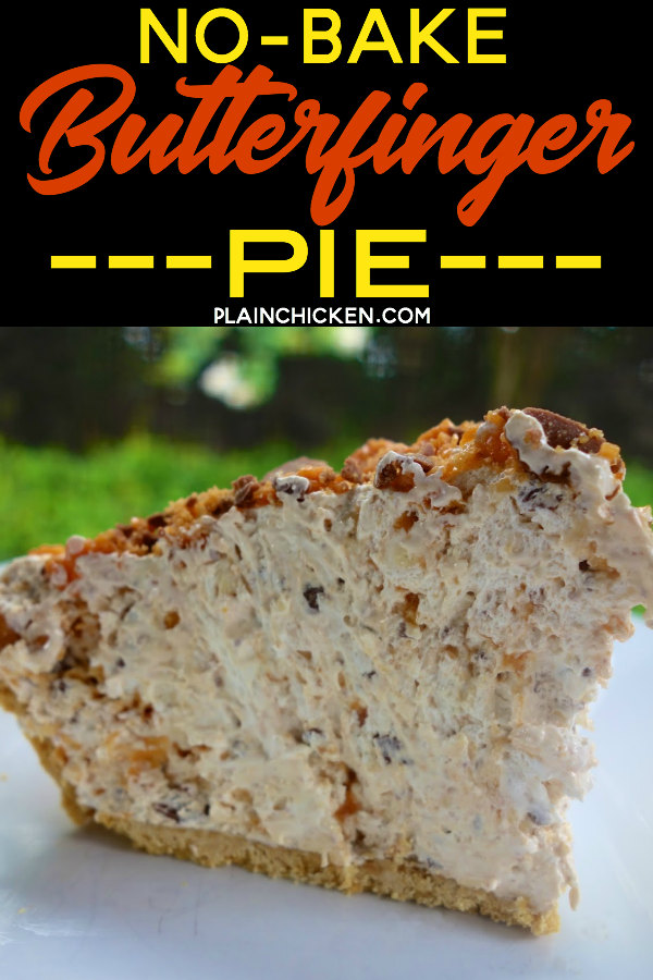 Butterfinger pie no bake only 4 ingredients and ready in dessert recipes butterfinger pie no bake only 4 ingredients and ready in minutes this is forumfinder Image collections