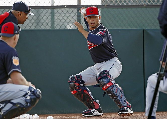 Tribe Options Francisco Mejia Reassigns Nellie Rodriguez Cleveland Indians Baseball Prospects Spring Training