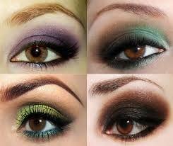 Resultado de imagem para maquiagem passo a passo para olhos castanhos