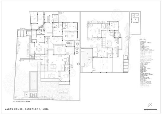 Indian house ground floor plans