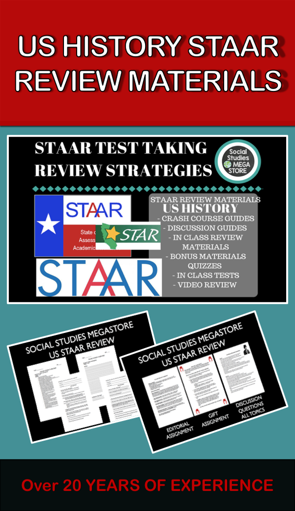 Us history staar review materials tpt misc lessons pinterest my staar test taking review strategies is designed to help 11th grade students how to fandeluxe Image collections