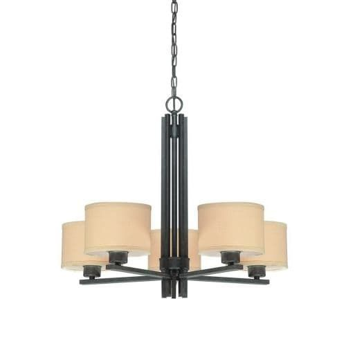 Dolan Designs 2940 5 Light Single Tier Ambient Light Chandelier from ...
