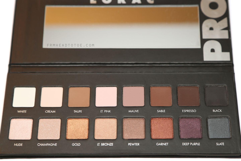 LORAC Pro Palette Review & Swatches Makeup revolution