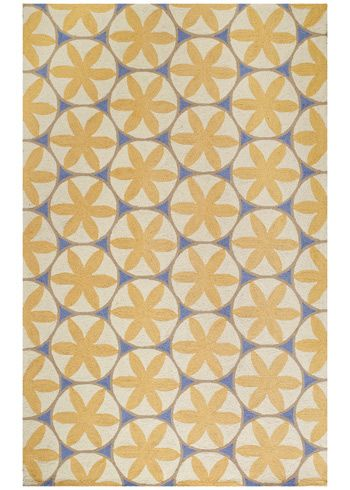 Capel Rugs Charlotte Yellow Hooked Wool Rug From Layla Grayce