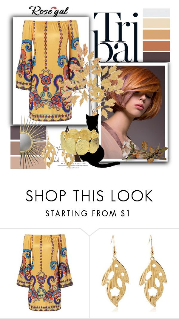 """""""Bohemian Dress by Rosegal #66"""" by adelmar ❤ liked on Polyvore"""