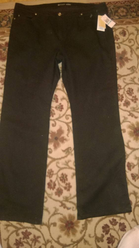 Michael Kors NWT Black Jeans Size 20W. Retails for over 100.00 100% Authentic