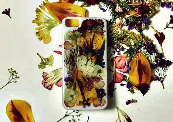 Wie man DIY gepressten getrockneten Blume iPhone Fall  The post Wie man DIY gepr…