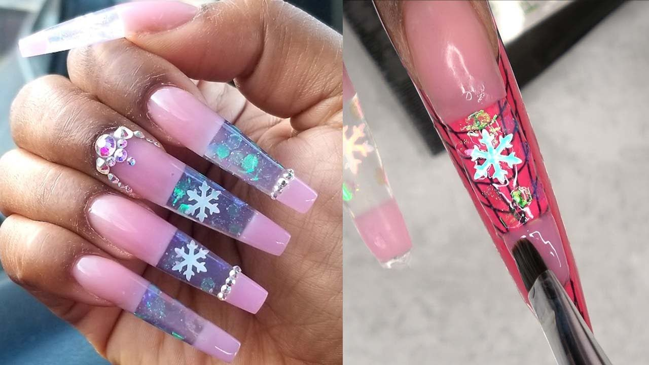 The Best Nail Art Designs Compilation On Youtube Acrylic Nails