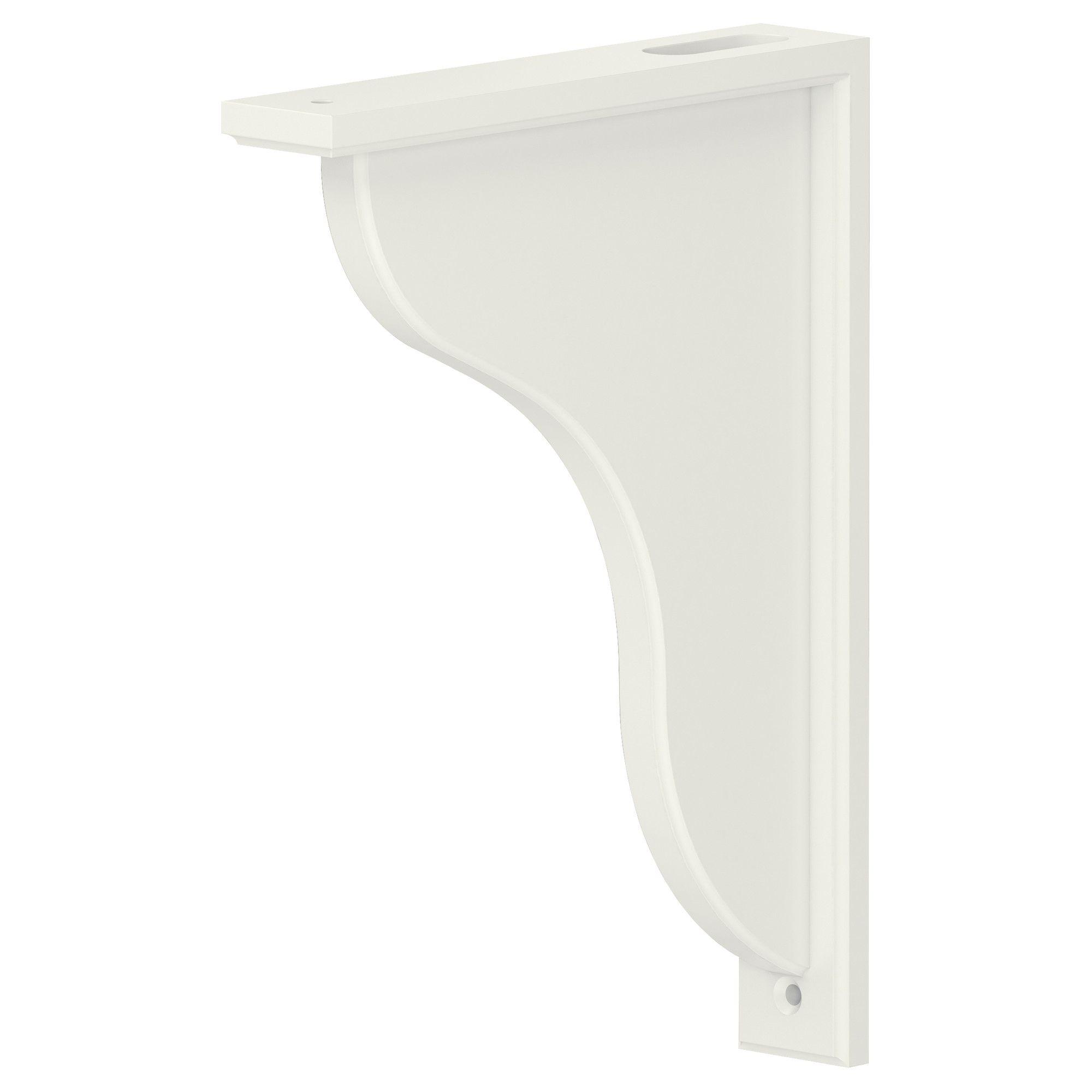 US Furniture and Home Furnishings White wood shelves