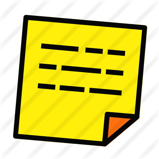 Sticky Note Free Vector Icons Designed By Andinur Vector Icon Design Vector Icons Icon