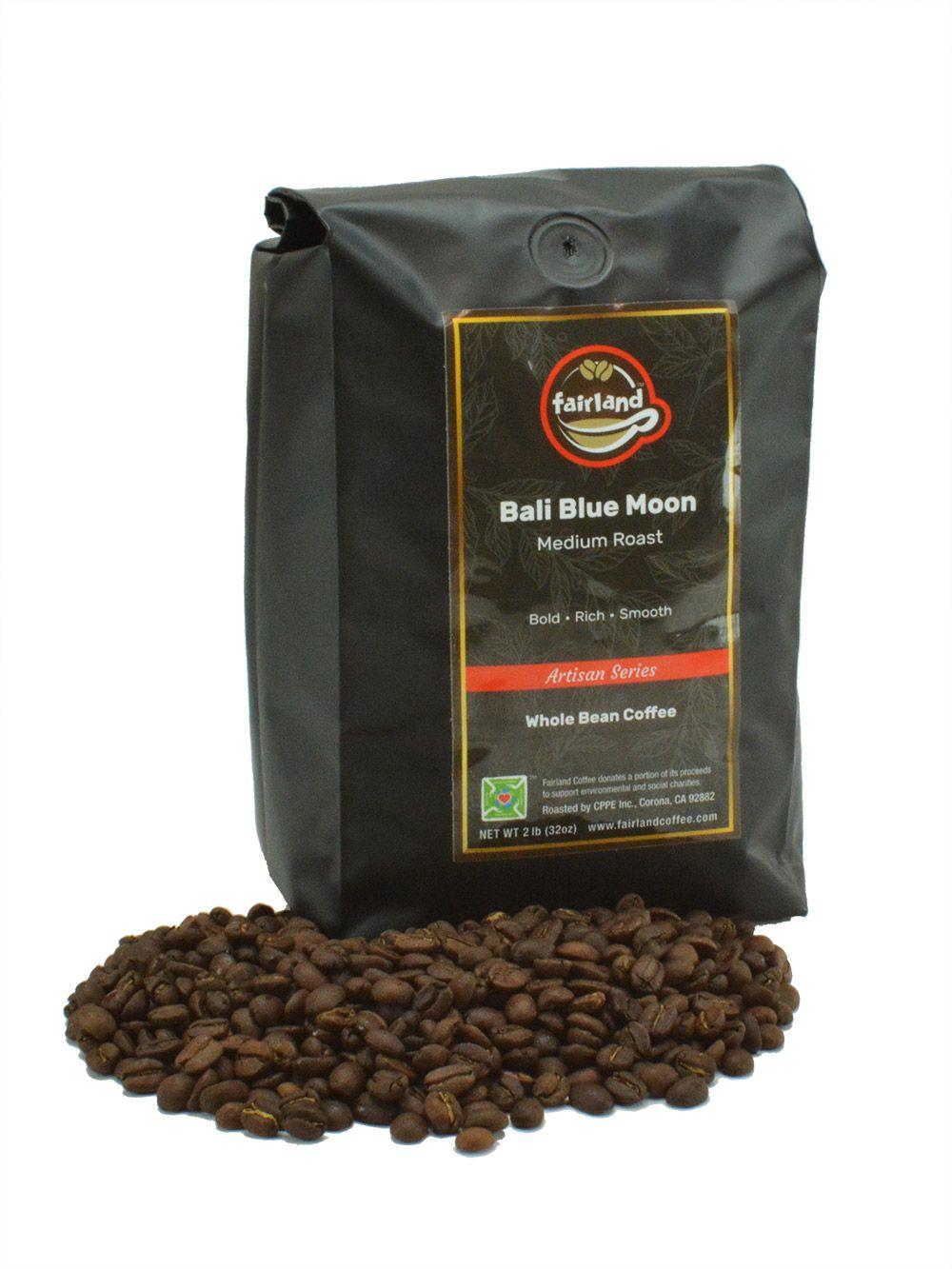Fairland coffee bali blue moon rain forest alliance