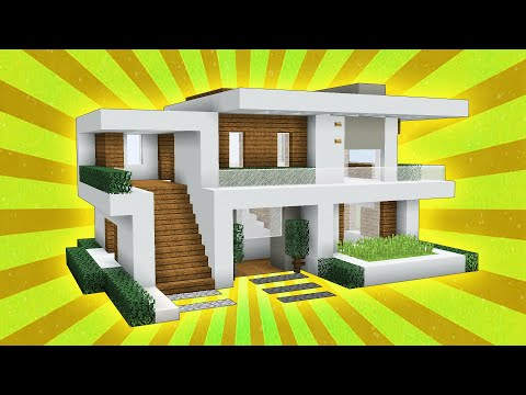 40 Minecraft How To Build A Large Modern House Tutorial 2019 Youtube Minecraft House Tutorials Easy Minecraft Houses Minecraft House Designs