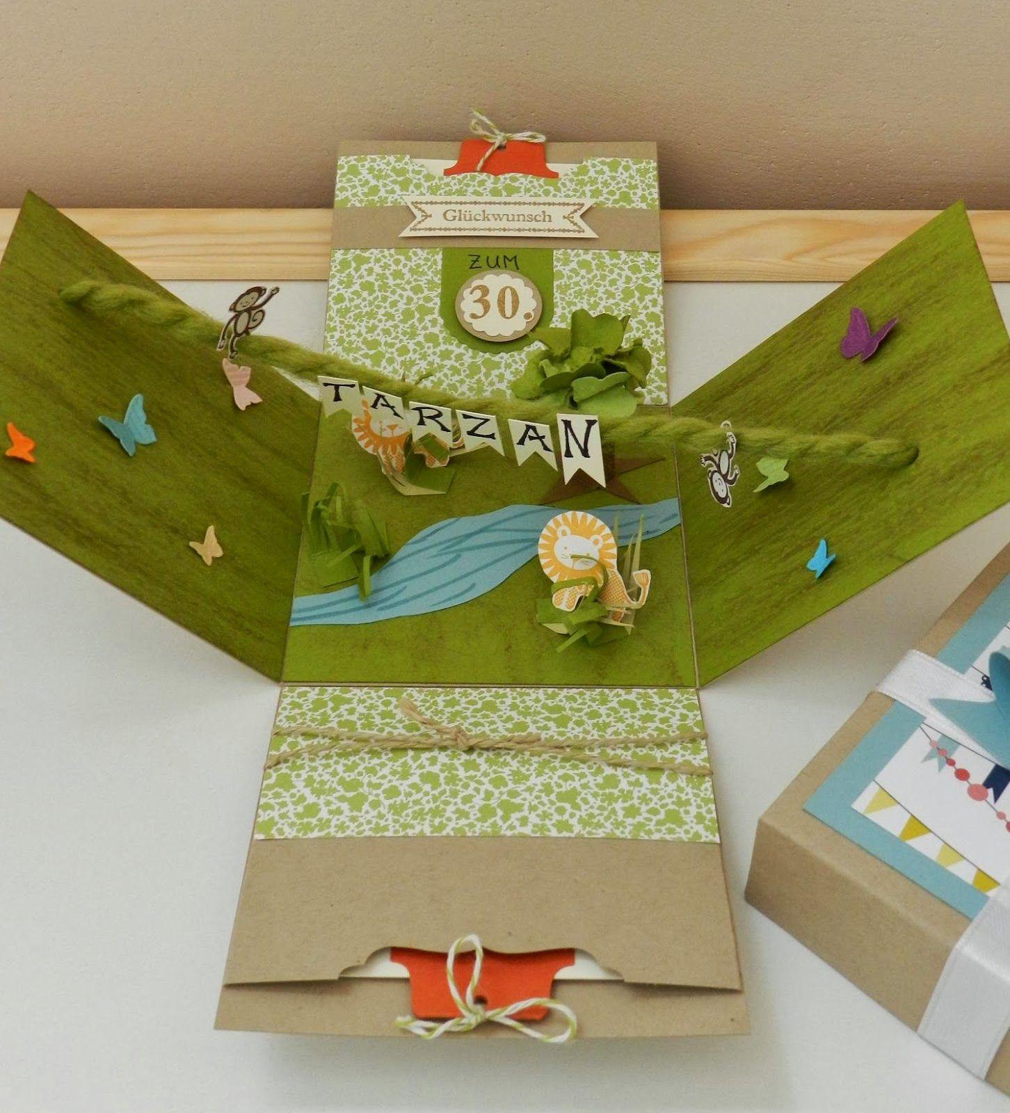 stempelhandwerk exploding box im dschungelfieber explosionbox pinterest gutscheine. Black Bedroom Furniture Sets. Home Design Ideas