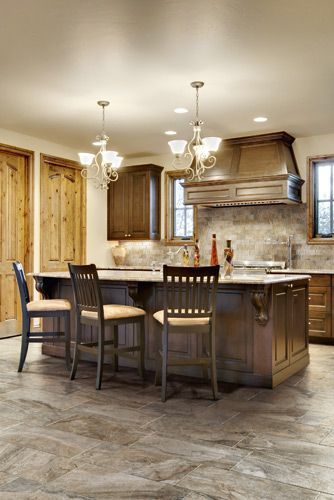 Simply Gorgeous Porcelain Floor And Backsplash Series W