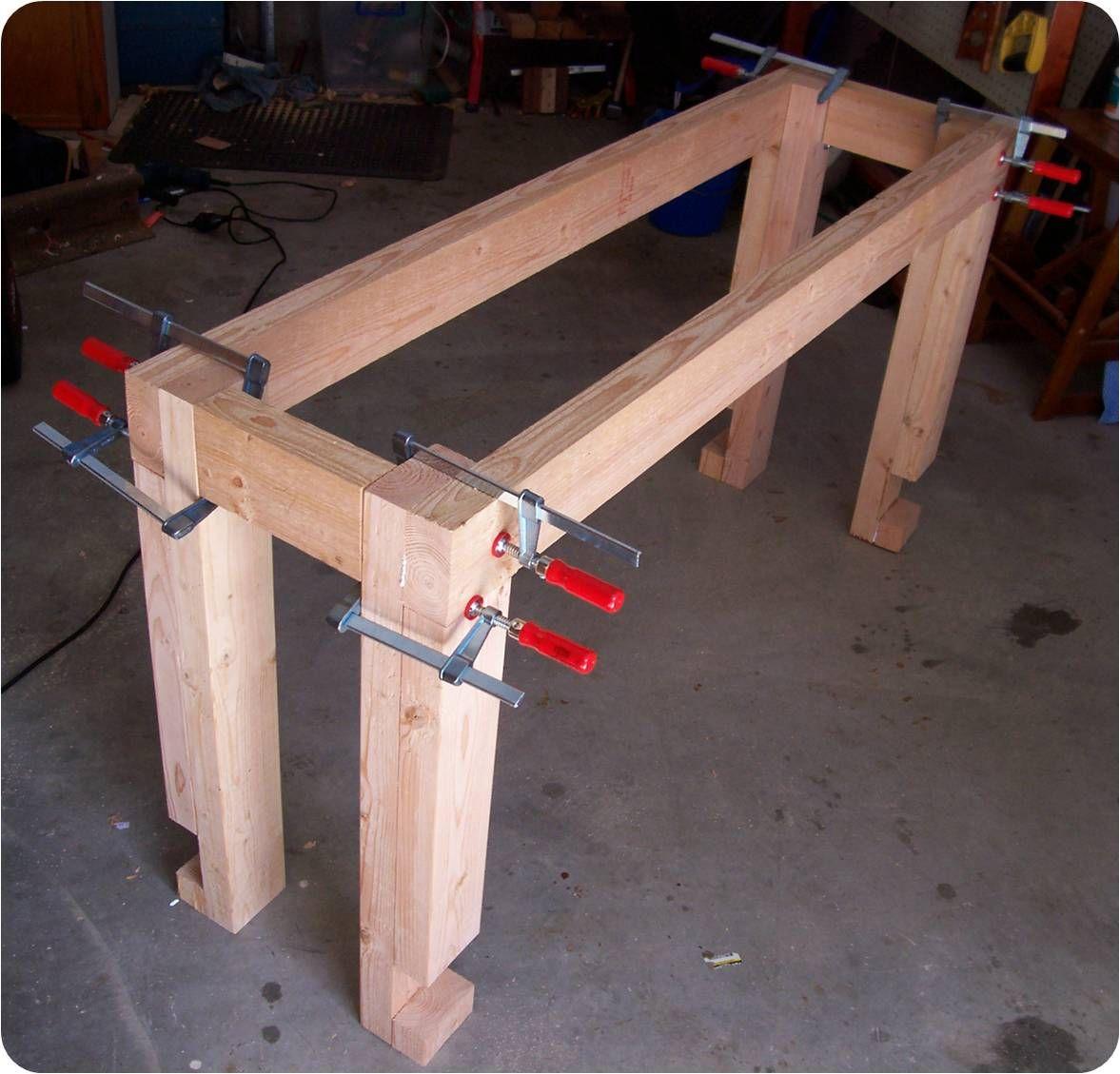 workbench the woodwork geek page 2 - Workbench Frame
