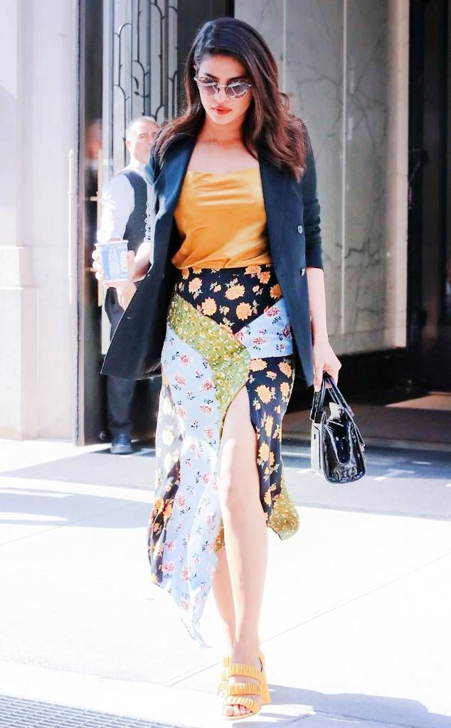 2bdabcc2cb08 Priyanka Chopra from Best Celeb Street Style From New York Fashion Week  Spring 2019