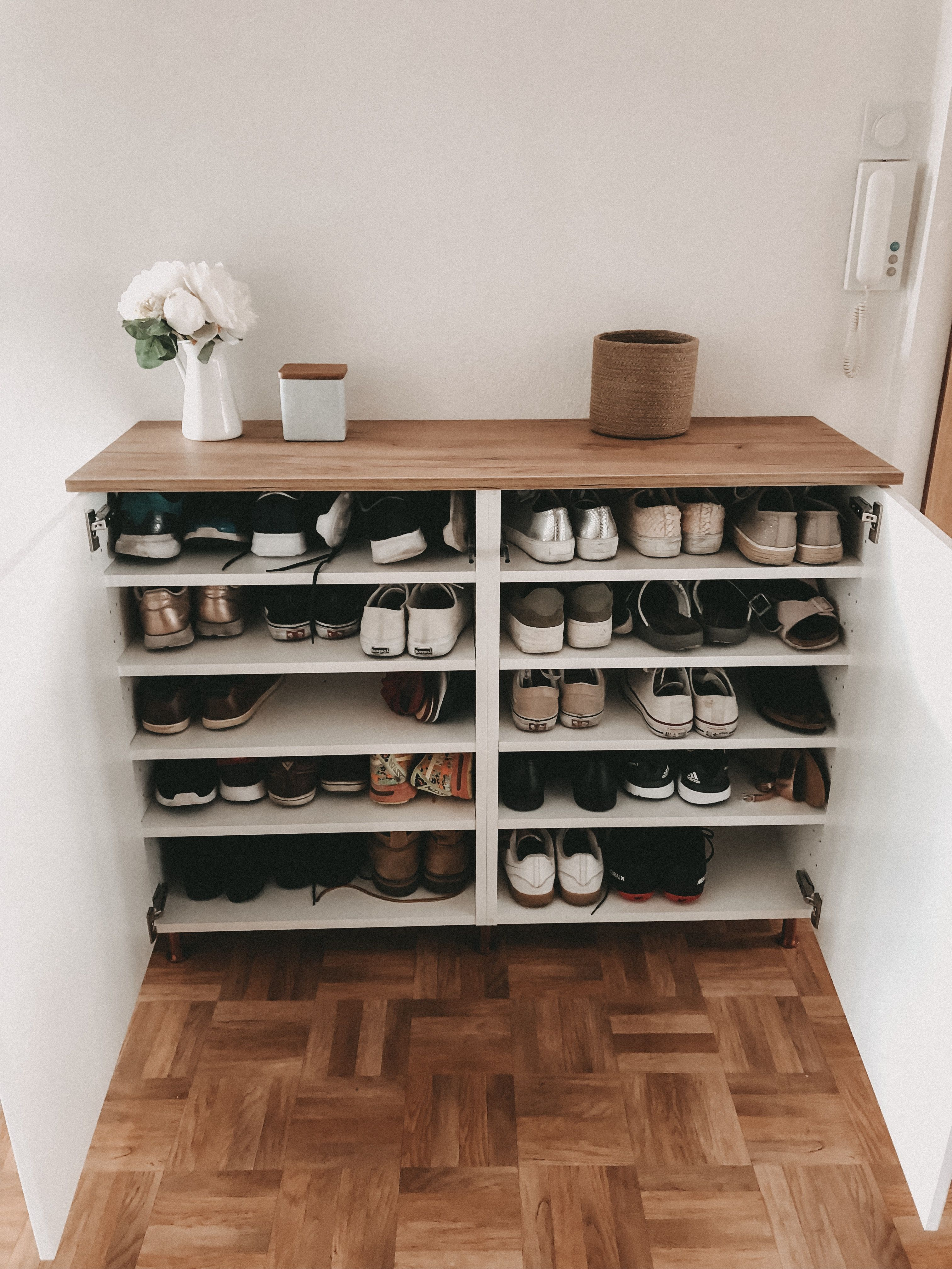 Photo of DIY Schuhregal – IKEA Hack
