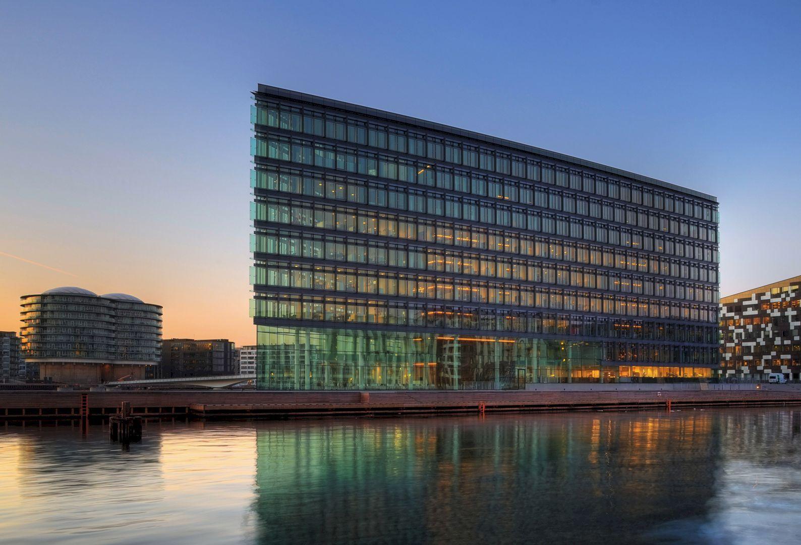 Aller media building flexible interior design for innovative work environment architecture also rh pinterest