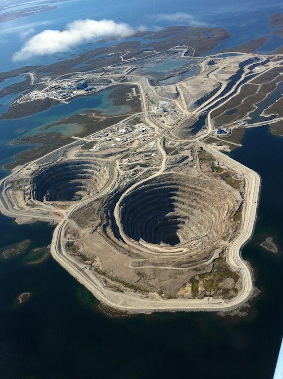 Diavik Diamond Mine Canadian Northwest Territories