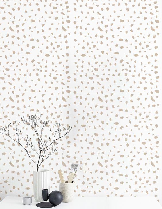 Self adhesive wallpaper Removable wall decal Cheetah