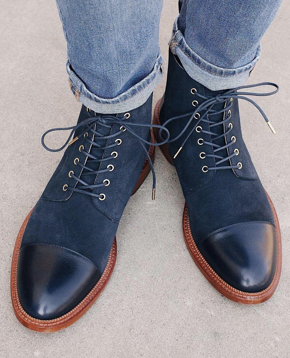 New Navy Jack Boots from Taft Clothing  taft  boots  taftclothing   jackboots   de8f75ad70