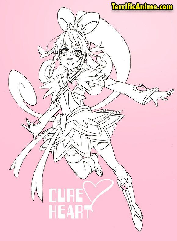 Precure Aidamana Anime Cureheart Precure Prettycure ドキドキ