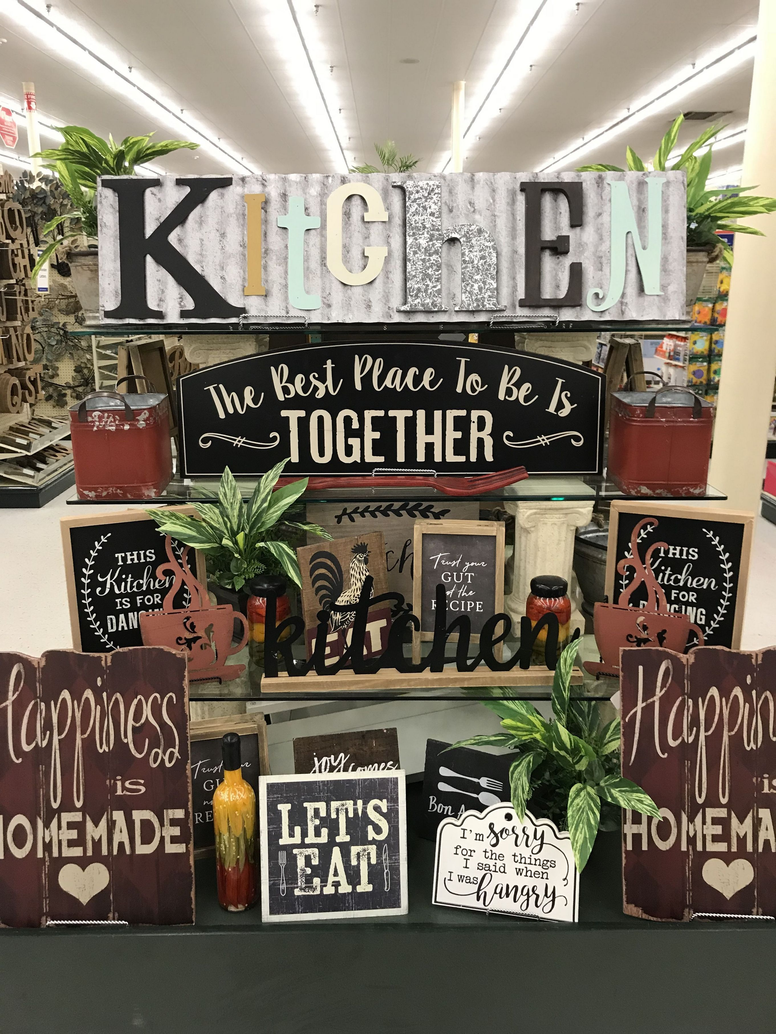33 hobby lobby farmhouse decor ideas in 2020 Kitchen