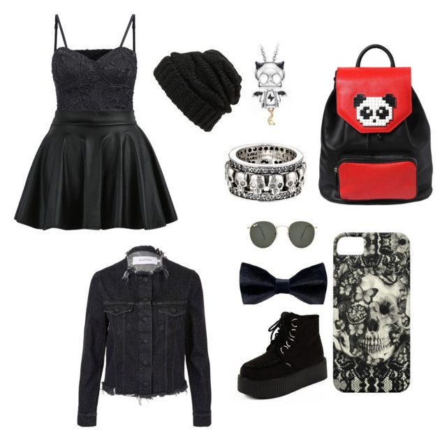 """""""XoXo...1"""" by fairy-floss218 on Polyvore featuring Ray-Ban, DIBI, Les Petits Joueurs, Marques'Almeida, King Baby Studio, Belec, Leith, women's clothing, women and female"""